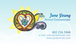 Jane young business card